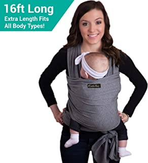 Premium CuddleBug Baby Wrap Carrier & Sling - Ideal for Newborns up to 36 lbs
