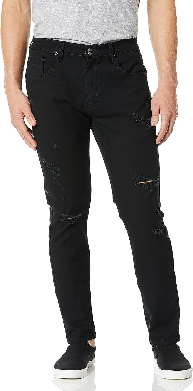 WT02 Men's Basic Skinny Jeans