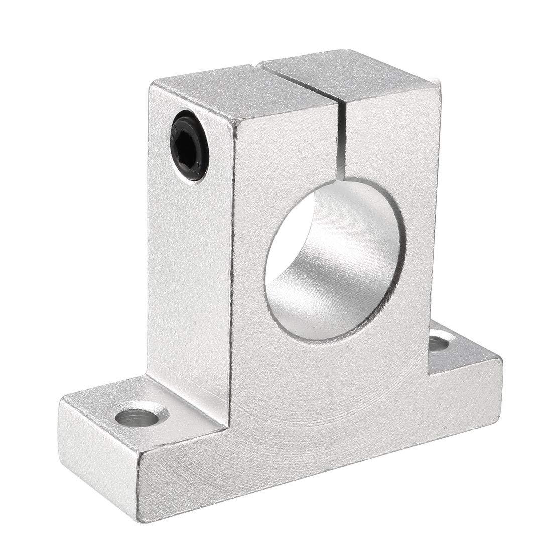 10mm Outer Diameter VXB Brand LMH10UU 10mm Flanged Ball Bushing CNC Linear Motion 10x19x29mm Type 19mm Flanged Linear Motion Ball Bushing Inner Diameter
