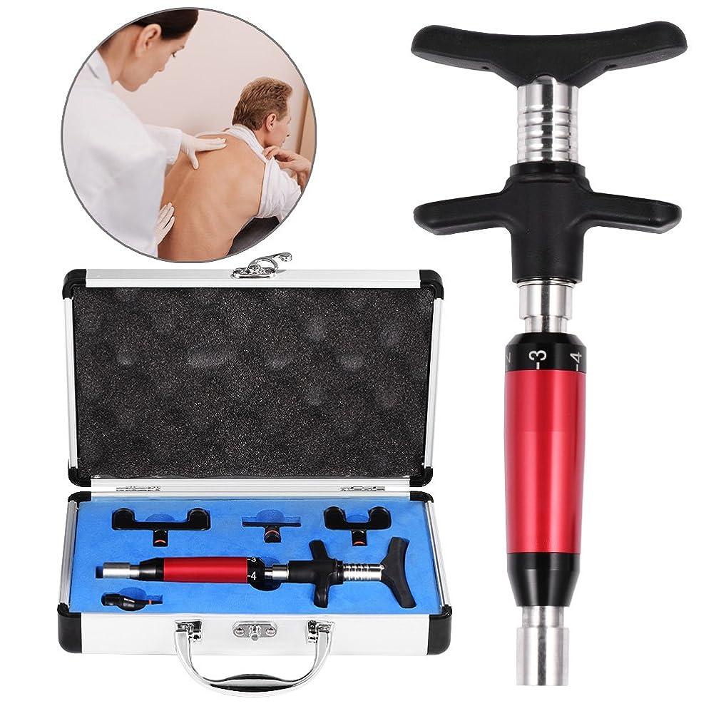 ポルノ学校教育6レベル手動ヘッドスパインマッサージャー、背骨調整キット、背骨と胸郭の調整のための背骨マッサージ、ポータブル