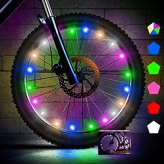 Creatour Bike Wheel Lights Auto Shut-Off LED Waterproof...