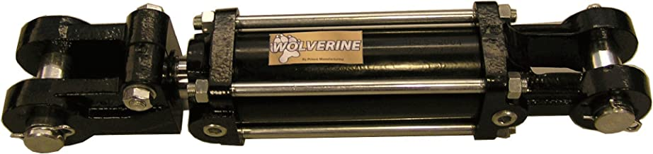 Prince W200080 Double-Acting Tie-Rod Hydraulic Cylinder, Clevis Mounting, Plated, 2