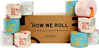 100% Recycled 3 Ply Toilet Paper - 24 Rolls