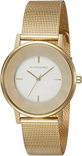 Giordano Analog Silver Dial Women's Watch - A2052-11