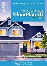 TurboFloorPlan Home & Landscape Deluxe 2019 [PC Download]