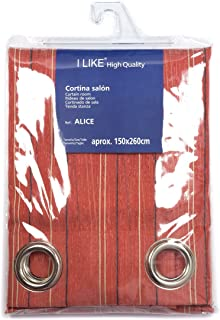 I LIKE Cortina DE SALÓN Alice 100% Poliester 150 X 270 CM