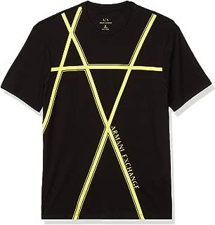 A|X Armani Exchange Men's Crew Neck Regular Fit Short Sleeve
