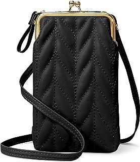 takyu Handytasche zum Umhängen, kleine Crossbody Bag Geldbörse Umhängetasche Damen mit Kartenfächer für Handy unter 6.3 Zo...