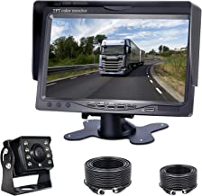 $49 » Sponsored Ad - Backup Camera Kit, 7'' LCD Rear View Monitor with IP69 Waterproof Night Vision Back up Rearview Reverse Cam...