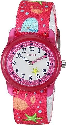 Timex - Analog Elastic Fabric Strap (Little Kids/Big Kids)
