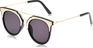MESTIGE Women's Sunglasses Cateye Mia in Black Gold & Black