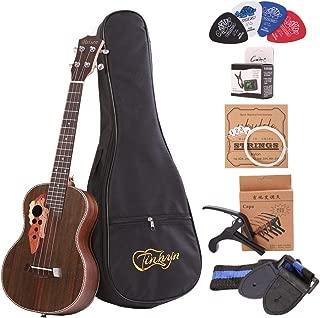 Tenor ukulele 26 inch professional rosewood ukulele send a full set of accessories