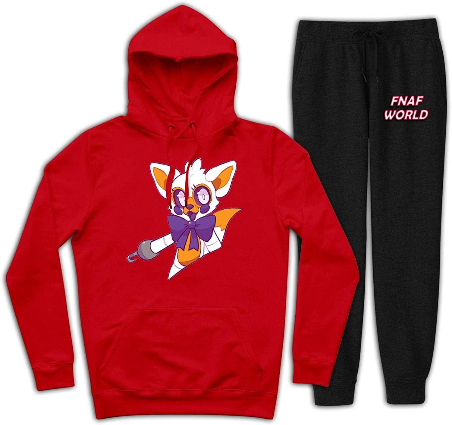 FN/_af Cute Lo/_lbit Youth Hoodies and Sweatpants Set Casual Sweatshirt Suit 2 Pieces Tracksuits for Boys Girls