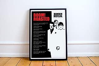 michael scott roast poster
