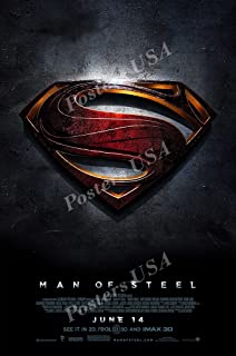 Posters USA - DC Man of Steel Superman Movie Poster GLOSSY FINISH - FIL235 (24