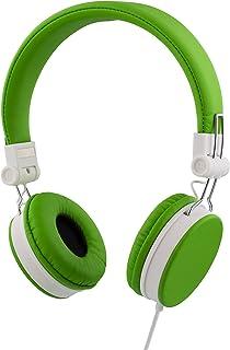 STREETZ 1,5 m headset med mikrofon för smartphone – grön