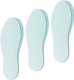 confort Fait en UE semelle anti transpiration fin et l/éger 3 paires semelles chaussures antibact/érien Semelle anti odeur chaussure absorbant