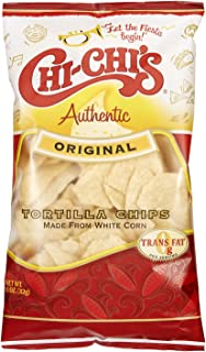 Chi-Chi's Tortilla Chips- Made From White Corn (Original, 3 Bags)