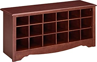 Ravenna Home Sobaski Wood Shoe Storage Rack Organizer, 48