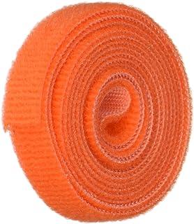 Black MJ May 3804-SAT-PSA//B-75 Velcro Brand Super Adhesive Woven Nylon Hook and Loop Combo Pack 1 Width x 75