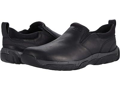 Clarks Grove Step (Black Leather) Men