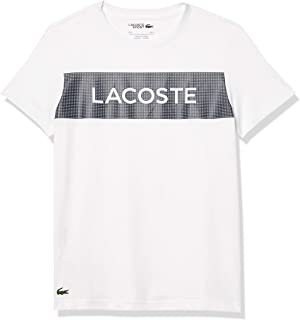 Lacoste Men's Sport Short Sleeve Techinical Jersey Graphic T-Shirt