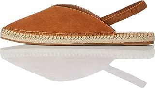 Amazon Brand - find. Women's Slingback Leather Espadrille Slip-On Shoe