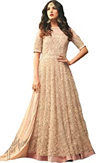 peach gown indian