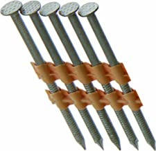 Grip Rite Prime Guard GR408HG1M 21 Degree Plastic Strip Round Head Exterior Galvanized Collated Framing Nails, 3