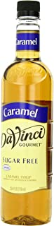 DaVinci Gourmet Sugar Free Syrup, Caramel, 25.4 Ounce (Pack of 3), Flavored Sweetener Syrup for Espresso Drinks, Tea, and Other Beverages, Suited for Home, Café, Restaurant, Coffee Shop