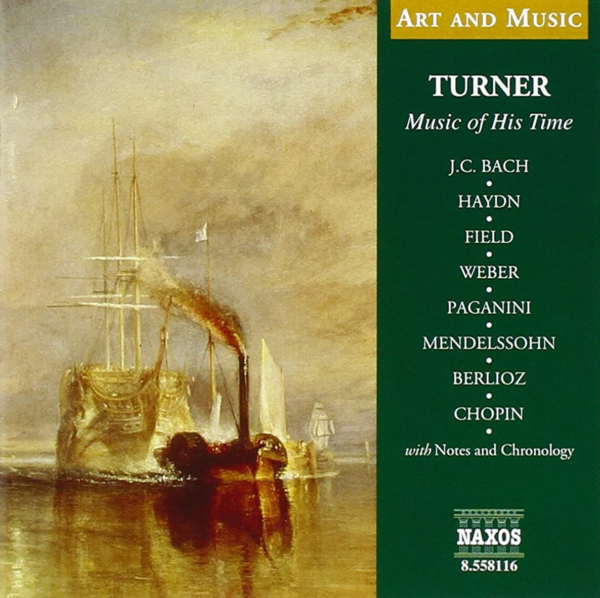 Turner: Music of His Time