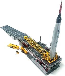 Atlas Rocket with Launch Pad and Mercury Capsule STEM a Salute to John Glenn Atlantis