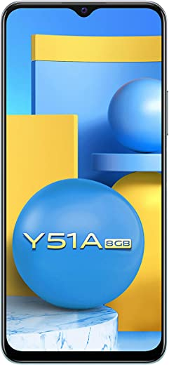 Vivo Y51A (Crystal Symphony, 8GB, 128GB Storage) with No Cost EMI/Additional Exchange Offers 1