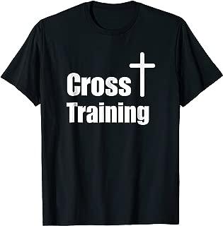 Cross Training Christian T-Shirt   Faith Workout Motivation