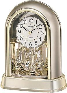 Rhythm 4Sg696Wr18 Contemporary Motion Table Clock - Golden