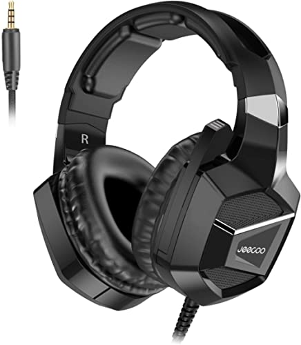 Jeecoo J20 PS4 Headset 7.1 Surround Sound Stereo Gaming Headset with Mic, Xbox One, PC, Nintendo Switch, PUBG, Fortni...