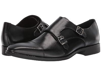 Massimo Matteo Double Monk Classic 19 (Black) Men