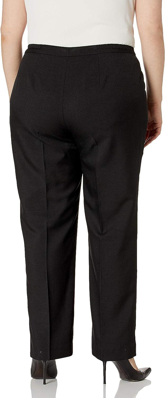 Le Suit Women's 2 Button Notch Collar Seamed Stretch Crepe Slim Pant Suit