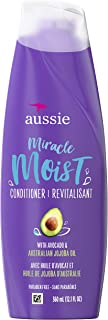 Aussie 干发适用 无防腐剂奇迹保湿护发素 含鳄梨和荷荷巴 360ml