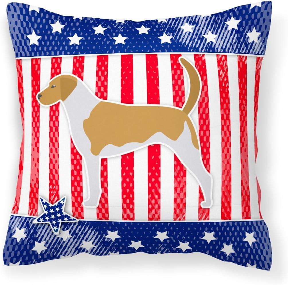 Caroline's Max 74% OFF Treasures BB3298PW1818 USA American Foxhoun Oklahoma City Mall Patriotic