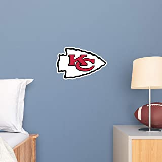 Fathead NFL Kansas City Chiefs - Logo Teammate- Officially Licensed Removable Wall Decal, Multicolor, Big - 89-03356
