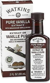 Watkins Pure Vanilla Madagascar Extract, 2 Fl Oz (Pack of 2)