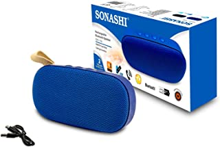 Sonashi Portable Rechargeable Bluetooth Speaker SBS-709 - Blue
