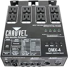 CHAUVET DJ LED Lighting, SILVER (DMX-4)