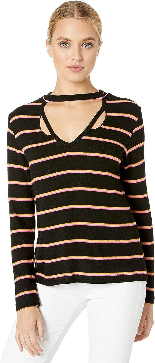 Black/Pink Stripe