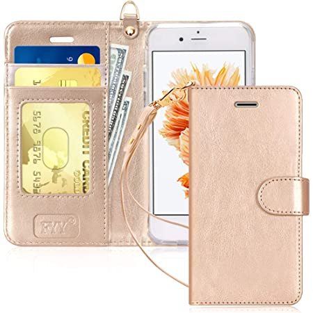 FYY Top-Notch Series Wallet Case for Apple iPhone 6 / 6S, Gold