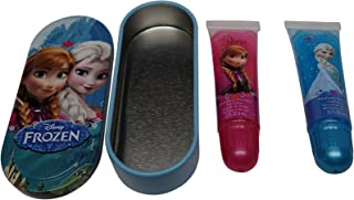 Disney Frozen Lip Gloss Set with Mini Tin Carrying Case, 1-Pack