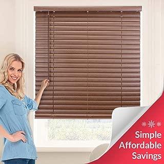 Vanilla 35 X 64 Gsp Direct 1 Room Darkening Mini Blind Horizontal Blinds