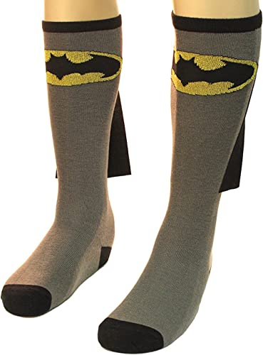 Bioworld Batman Adult Knee High Cape Sock, One Size