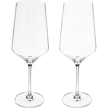 Schott Zwiesel Tritan Crystal Glass Stemware Pure Collection Bordeaux Red Wine Glass, 23-Ounce, Set of 2